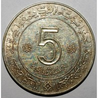 ALGERIE - 5 DINARS 1962/1972 - ARGENT - - Algérie