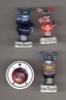 Série 5/12 Fèves Brillantes BILL LE BIGDIL 1998 émission De LAGAF TF1 - Strips