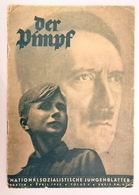 """Giornalino - Rivista D'epoca Nazista """"DER PIMPF"""" Nr. 4 Del 04.1940 Per Ragazzi Della HITLERJUGEND (GERMANIA WW2) - Documenti"""