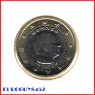 MONACO - 1 € 2007 UNC - KOERSMUNT - Monaco