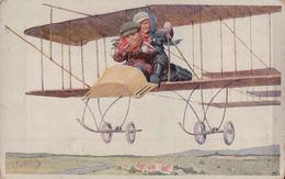 5420A  ENFANTS   1916      ECRITE - Cartes Humoristiques