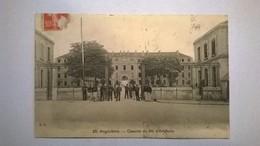 Carte Postale Ancienne  / Grande Guerre 1914-1918 / Caserne Du 34e D'Artillerie D' Angoulème - Guerre 1914-18