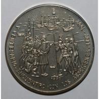CUBA - KM 288 - 1 PESO 1990 - RENCONTRE AVEC LES ABORIGENES - FLEUR DE COIN - - Cuba