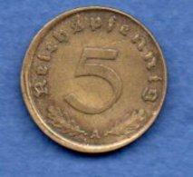 Allemagne -  15 Reichspfennig 1937 A  - Km #91  -- état  TTB - [ 4] 1933-1945 : Troisième Reich