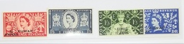 Kuwait 1953 Coronation Overprint MNH** - Kuwait