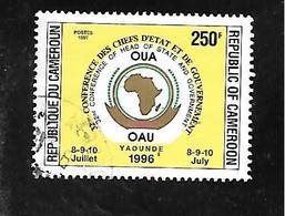 TIMBRE OBLITERE DU CAMEROUN  DE 1996 N° MICHEL 1223 - Kamerun (1960-...)