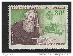 "Mali YT 171 "" Samuel Morse "" 1972 Neuf** - Mali (1959-...)"