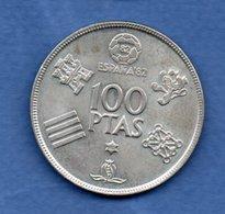 Espagne   100 Pesetas 1980     - Km # 820   -- état  SUP - [ 5] 1949-… : Royaume