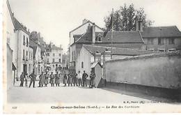 CHALON-sur-SAONE --La Rue Des Cordeliers - Chalon Sur Saone
