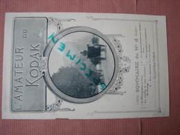 """Kodak """" L'Amateur Du Kodak Sommaire Du N° 8 ( Pas De Date Vers 1910 ) - Matériel & Accessoires"""