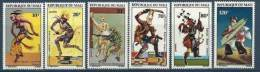 "Mali YT 177 à 182 "" Danses Folkloriques "" 1972 Neuf** - Mali (1959-...)"