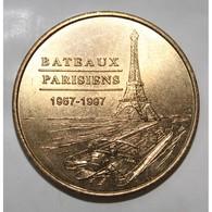 75 - PARIS - BATEAUX PARISIENS 1957-1997 - MDP - 2003 - - Monnaie De Paris