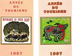 Niger 1997, Year Of The Ox, 2BF - Astrologie