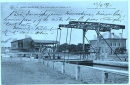 Saint-Ghislain NA21: Vue Prise Près De L'écluse N°3 1907 ( SBP 11 ) - Saint-Ghislain