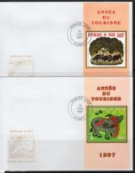 Niger 1997, Year Of The Ox, 2BF In 2FDC - Astrologie