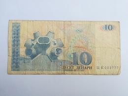 MACEDONIA 10 DINAR 1993 - Macédoine