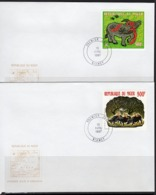 Niger 1997, Year Of The Ox, 2val In 2FDC - Astrologie