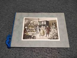 ANTIQUE POSTCARD GREETINGS CARD W/ NOBLES USED 1934 - Greetings From...