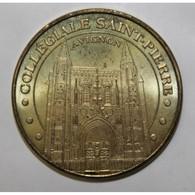 84 - AVIGNON - LA COLLEGIALE SAINT-PIERRE - MDP - 2008 - - Monnaie De Paris