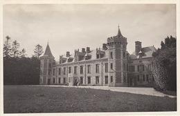 Photo Format Carte Postale Bretagne Chateau Le Cosquer 1921 - Places