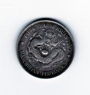 20 Cents Chine MANDCHURIAN Provinces Argent TTB - China