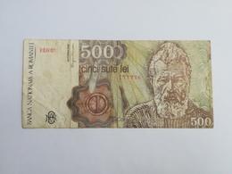 ROMANI 500 LEI 1991 - Roumanie
