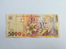 ROMANIA 5000 LEI 1998 - Roumanie