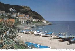 Postcard Runswick Bay Nr Whitby [ Fishing Boats ] My Ref  B23239 - Whitby