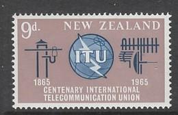 TIMBRE NEUF DE NOUVELLE-ZELANDE - CENTENAIRE DE L'UNION INTERNATIONALE DES TELECOMMUNICATIONS N° Y&T 427 - Télécom