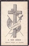 A NOS HEROS  MORTS  POUR LA  PATRIE ,,,,, DIEU, HONNEUR  ET  PATRIE ,,,, - Militaria