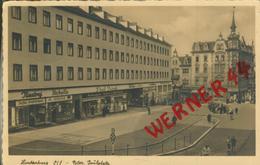Hindenburg V. 1935 Peter Paul Platz,Niestrof Kaffee-Großrösterei,NSDAP,Modegeschäft Frank  (50660) - Schlesien