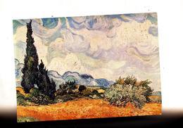 Carte Tableau Van Gogh Cypres Cachet Saint Louis Sur Marianne Liberte  Gandon - Peintures & Tableaux