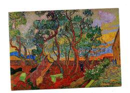 Carte Tableau Van Gogh Jardin Saint Remy Cachet Saint Louis Sur  Croix Rouge Liberte - Peintures & Tableaux
