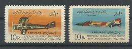 IRAN YVERT  1557/58   MNH  ** - Irán