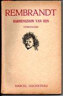 Rembrandt Dr Marcel Duchateau Schilder Geromantiseerd Verhaal - Livres, BD, Revues