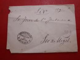 España Antiguo Documento Provincia De Lerida - España