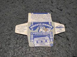 ANTIQUE RAZOR BLADE WRAPPER MULCUTO DIAMON MADE IN GERMANY - Lames De Rasoir