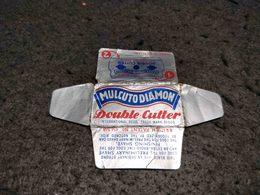 ANTIQUE RAZOR BLADE WRAPPER MULCUTO DIAMON MADE IN GERMANY Nº2 - Lames De Rasoir