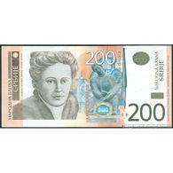 TWN - SERBIA 42a - 200 Dinara 2005 Prefix AA UNC - Serbia
