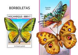 Mozambique. 2018 Butterflies. (505b) - Schmetterlinge