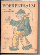 Boerenspalm Dr Felix Timmermans  Litteratuur 222 Blz - Livres, BD, Revues