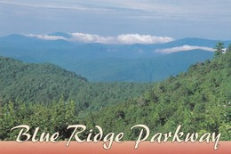 Postcard Blue Ridge Parkway Near Highway 80 My Ref  B23230 - United States