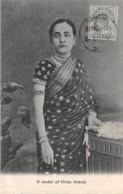 Inde / Ethnic - 219 - A Model Of Hindu Beauty - Belle Oblitération - Inde