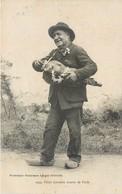 CPA 40 Landes Types Vieux Landais Joueur De Vielle Instrument Musique Folklore Paysan Cazaubon Gers - Francia