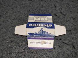 ANTIQUE RAZOR BLADE WRAPPER PANSARKLINGAN MADE IN SWEDEN - Razor Blades