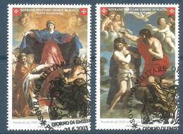 2003 ORDINE DI MALTA SMOM  Serie Completa Usata FDC Bellissima - Malte (Ordre De)
