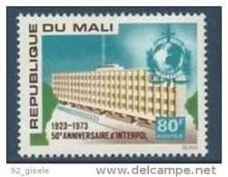 "Mali YT 204 "" Interpol "" 1973 Neuf** - Mali (1959-...)"