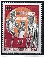 "Mali YT 205 "" Handicapés "" 1973 Neuf** - Mali (1959-...)"
