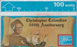 Gibraltar - Columbus 500th Anniversary - Gibraltar