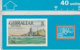 Gibraltar - HMS Hood - Gibraltar